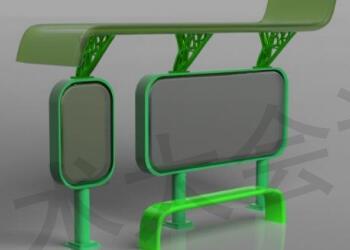 公交站台顶棚支架结构及铸造工艺浇注系统优化设计应用