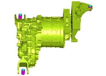 电动汽车动力总成悬置系统优化设计