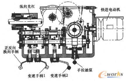 6180车床主轴结构图