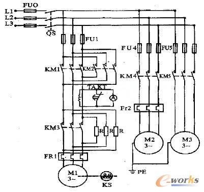 c650车床的主电路
