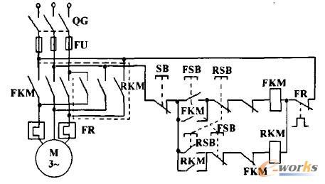 转塔打字系统电气控制原理电路