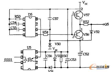 图5驱动电路原理图