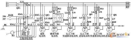 plc在双柱立式车床控制中的应用
