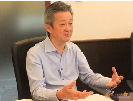 CAMSTAR公司亚太区总经理康永德先生(Kong Eng Teck)