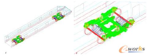 图1 车辆刚柔耦合动力学模型
