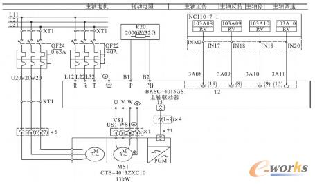 plc 的梯形图是在继电器- 接触器电路图的基础上演变而来的, 具有