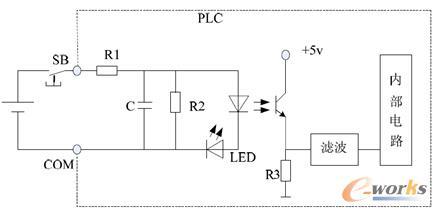 图2 直流输入接口电路