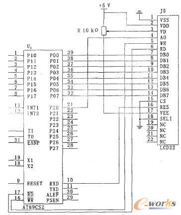 系统采用光耦耦合器和三极管s8050 作驱动,光电耦合器有隔离作用,可