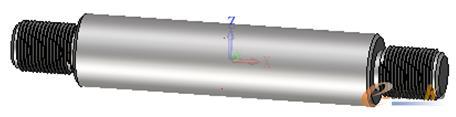 图1 用中望3D进行轴类零件自动螺纹收尾