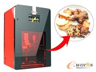 食品3D打印机