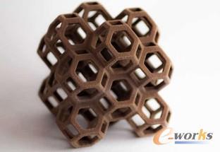 图2 3D打印的巧克力