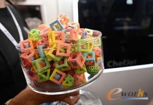 3D打印的糖果
