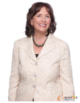 QAD全球总裁兼董事会主席Pamela Lopker女士