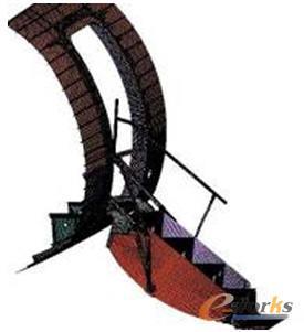 门框与登机梯的有限元模型