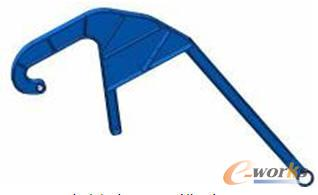 主摇臂CAD模型