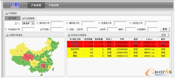 飞鹤产品追踪系统