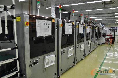 图1 保隆科技TPMS全自动生产线