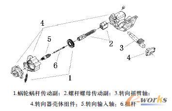 设计球式电动助力转向器的参数化循环_CAD_2010cad新建图片