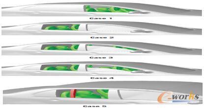 图2 塔塔科技公司研究的五种风振情景