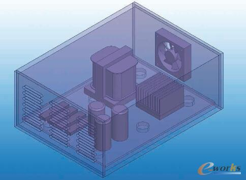 图1 示例电源设备几何结构