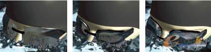 图4 从左至右:速比涛Super Elite和Elite泳镜的性能与现有的Aquasocket泳镜相比得到了显著提高