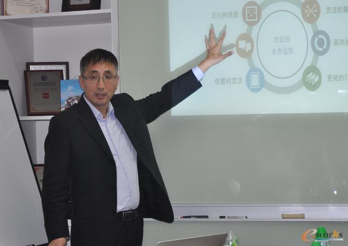 Infor大中华区商业咨询总监鹿崇