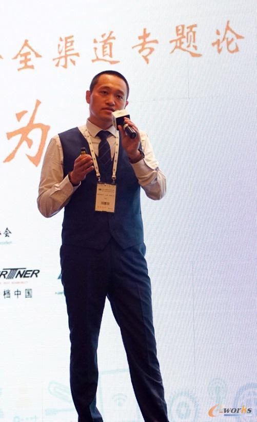 曼哈顿软件大中国区业务拓展总经理肖旭