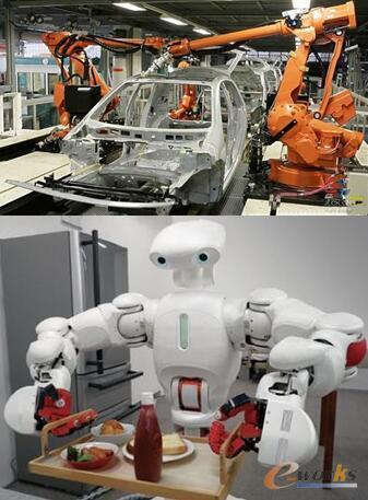 图2 现实中的机器人