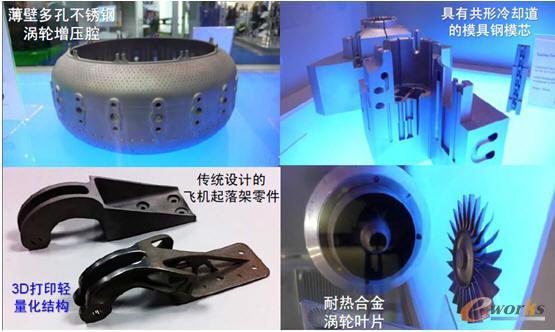 金属3D打印产品