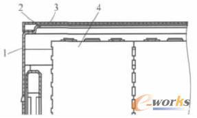 电池箱体的防水结构