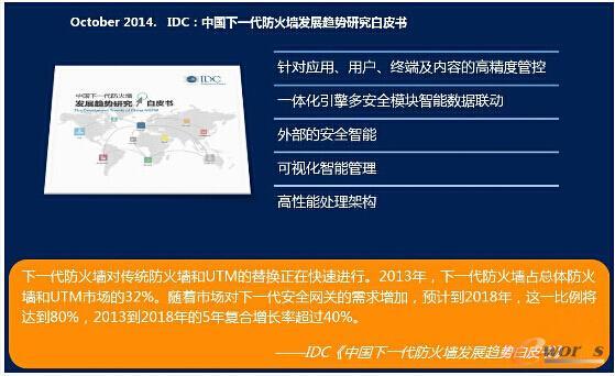 IDC:中国下一代防火墙发展趋势研究白皮书