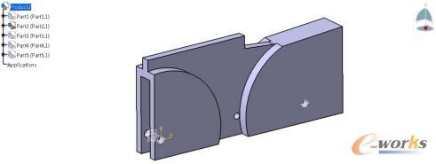 图3-2 设计空间几何模型