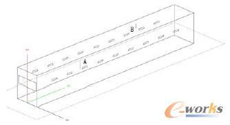图2 机体简化模型