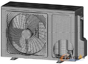 图2 空调室外机