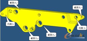 图1 几何模型