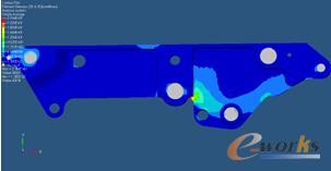 图3 整体应力云图