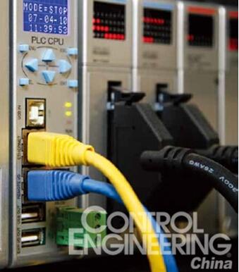 典型的高端PLC包含多种通讯接口,能够支持多种不同的工业通讯协议