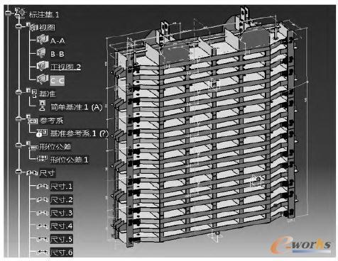 基于catia的钢岔管三维模板设计图片