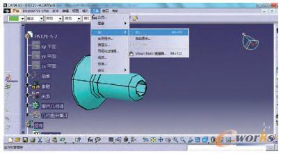 标准件模型的自动化v模型方法研究_CAD_布局cAD产品张复制到一图中另图片