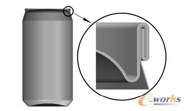 基于CreoParametric的易拉罐尺寸外形的优化cad下载官网中文版免费图片