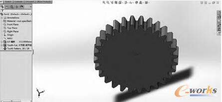 图4 齿轮图