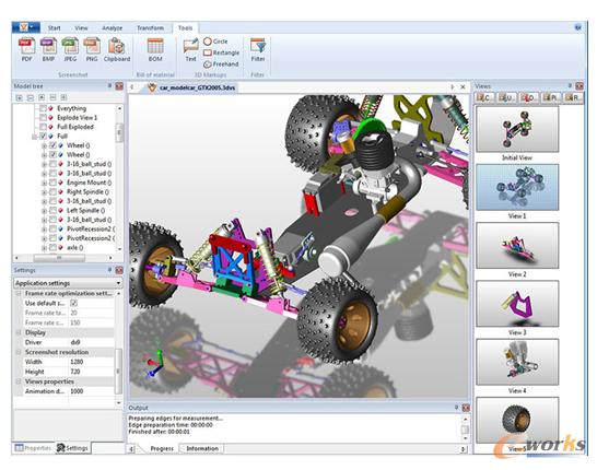 图6 3D Viewstation可视化在智能制造中的应用