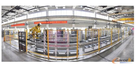 图15 数字化工厂生产线一瞥
