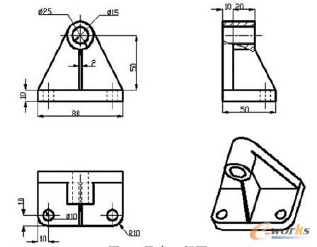 工程图 简笔画 平面图 手绘 线稿 448_349