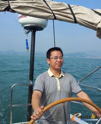 图1 深圳市沃尔核材股份有限公司信息中心高级经理周国华
