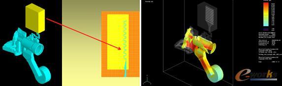 图7 波纹排气道网格处理