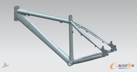 图/自行车车架优化设计