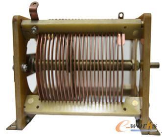 电阻线圈的实物样件模型图