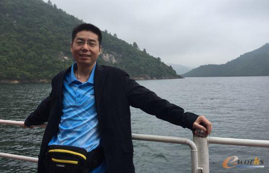 图2 刘仁飞 迪森公司信息部经理