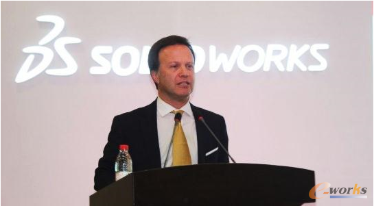 达索系统SOLIDWORKS CEO Gian Paolo BASSI先生